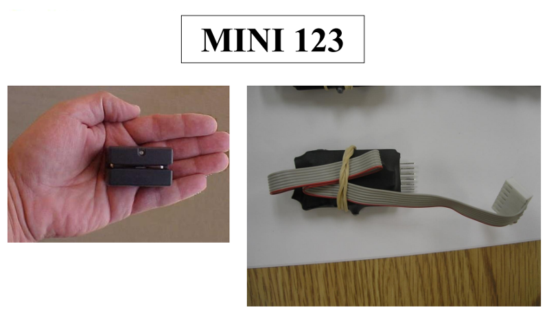 Mini 123 gas pump skimmer
