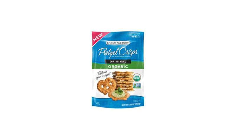 Snack Factory Organic Original Pretzel Crisps