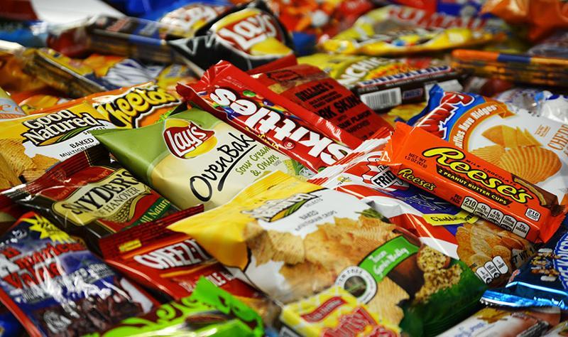 Multiple snack varieties