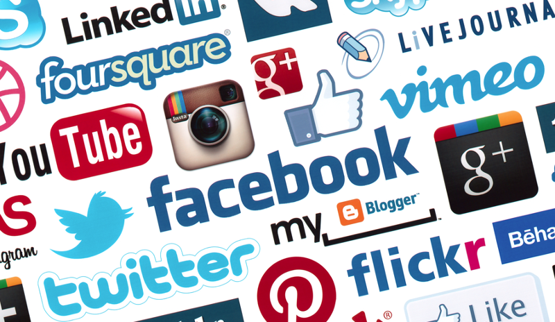 Social media icons Trendhunter