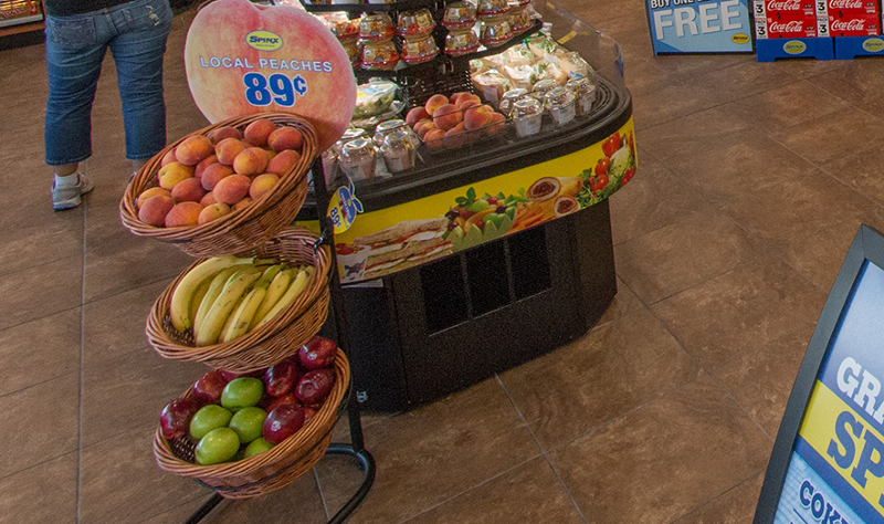 Spinx convenience store fresh fruit