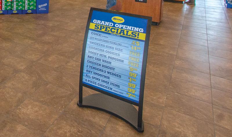 Spinx convenience store specials
