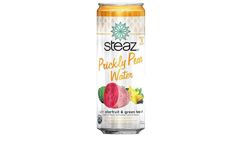 steaz prickly pear water