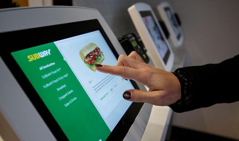Subway self-service kiosk
