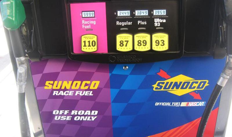 Sunoco fuel pump