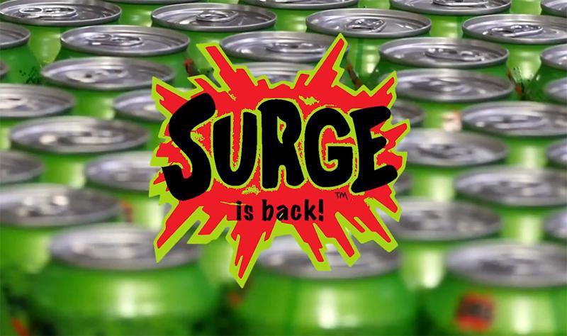Coca-Cola Surge