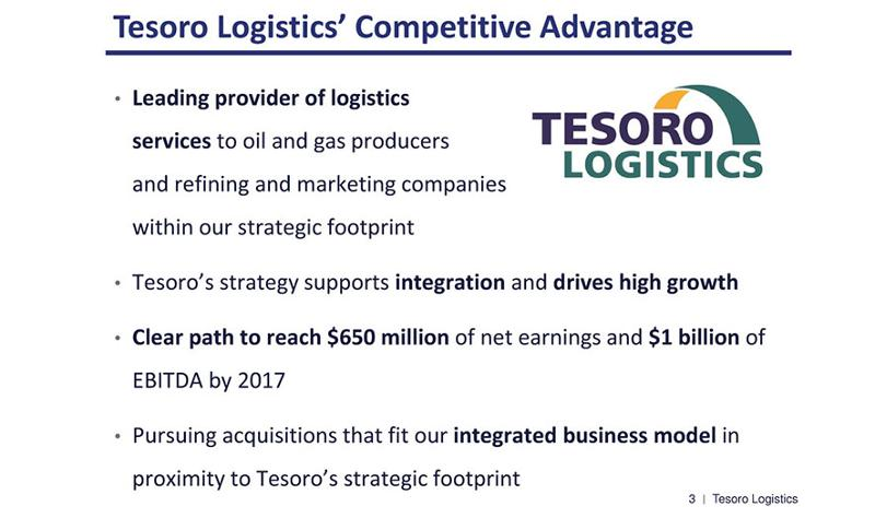 Tesoro Logistics
