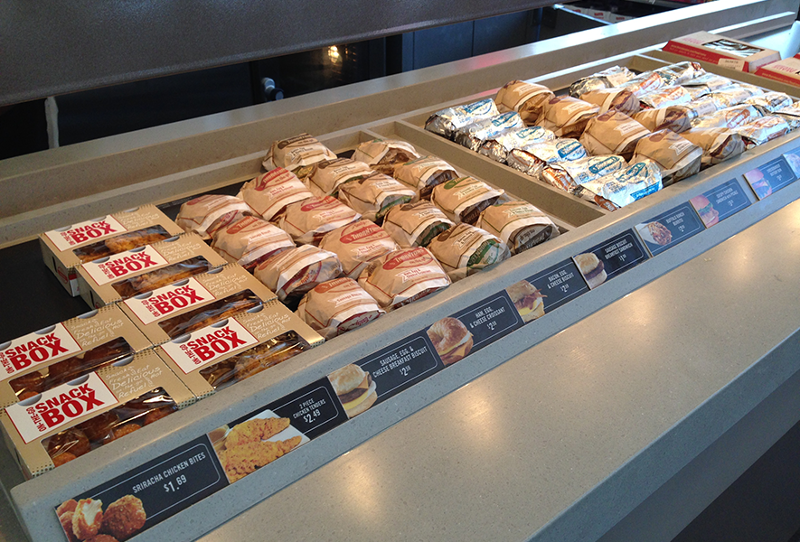 Thorntons convenience store sandwiches