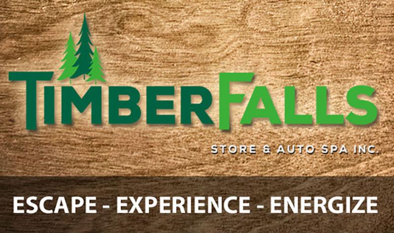 timber falls logo
