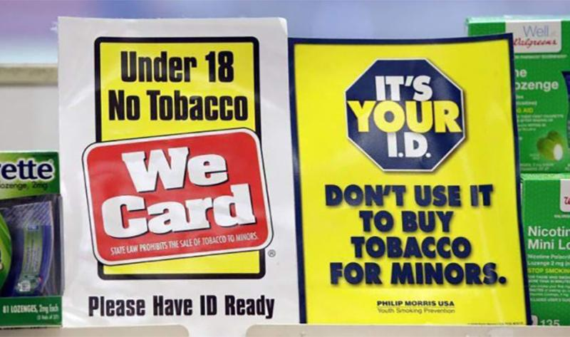 tobacco purchase age
