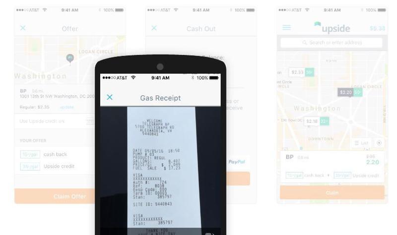 Upside Services app