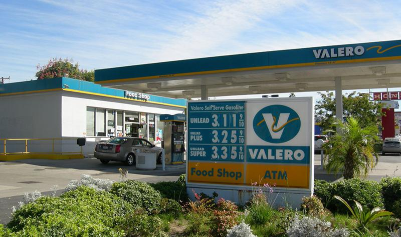 valero prices