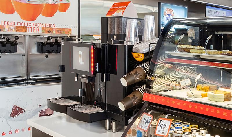 Vintners Distributors coffee station