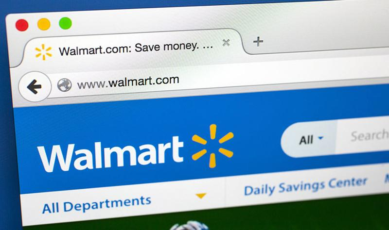Wal-Mart website
