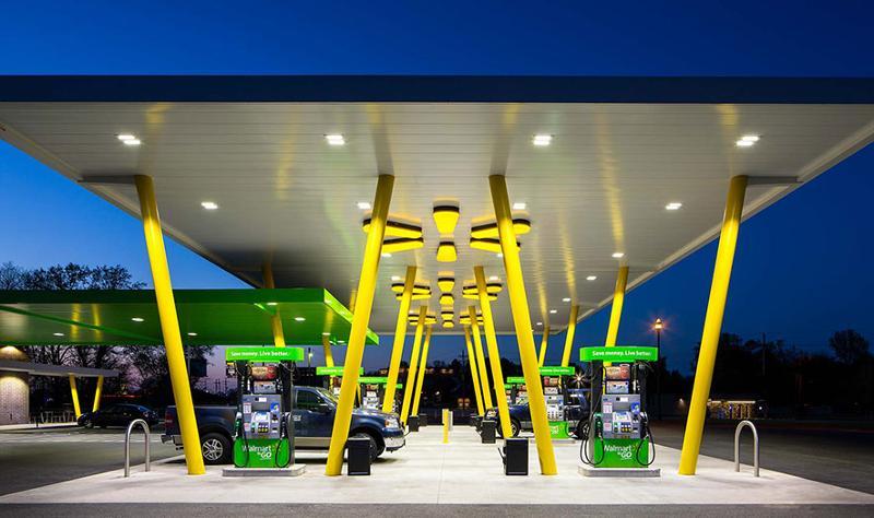 Wal-Mart gas station