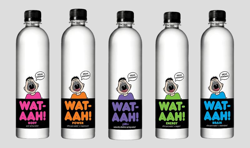 Wat-aah! bottled water