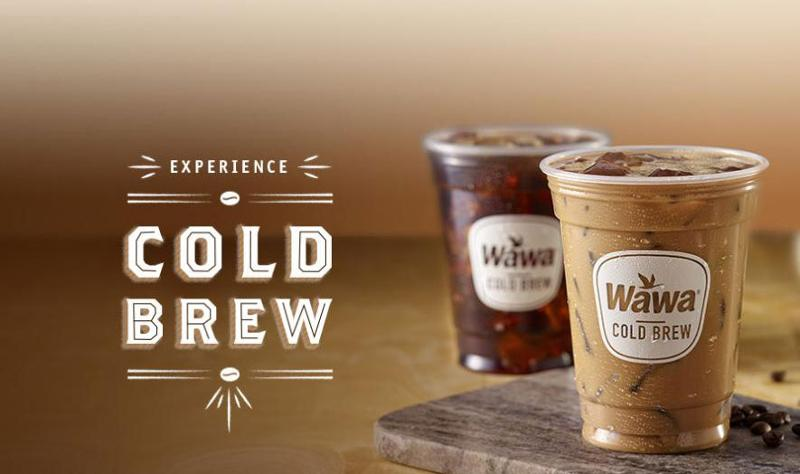 Wawa cold brew coffee