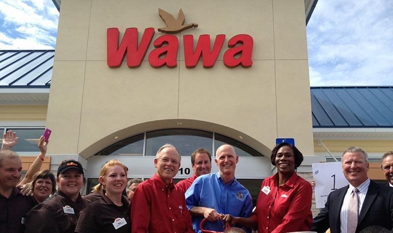 Wawa's first Florida opening in 2012