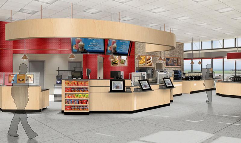 Wawa store interior