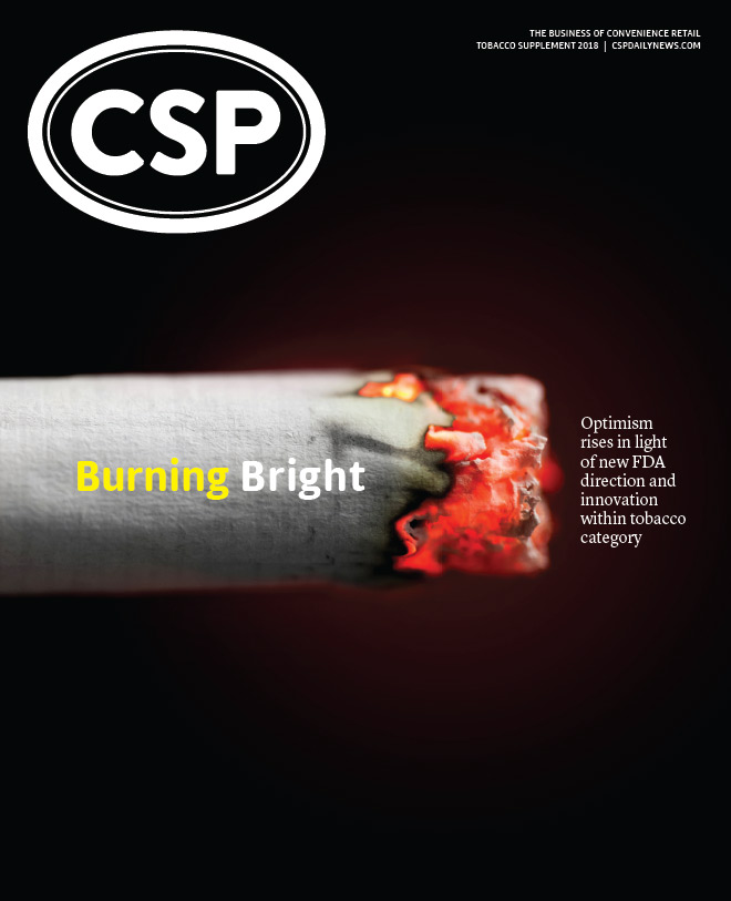 CSP Daily News Magazine CSP Magazine Special Issue | Tobacco Supplement Spring 2018 Issue
