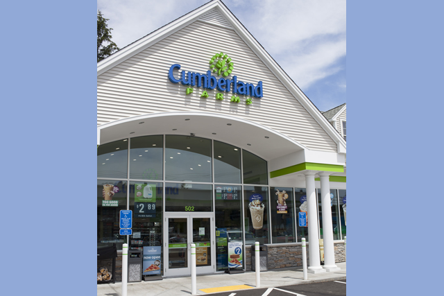 Cumberland Farms convenience store inside