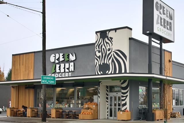 Green Zebra salad bar
