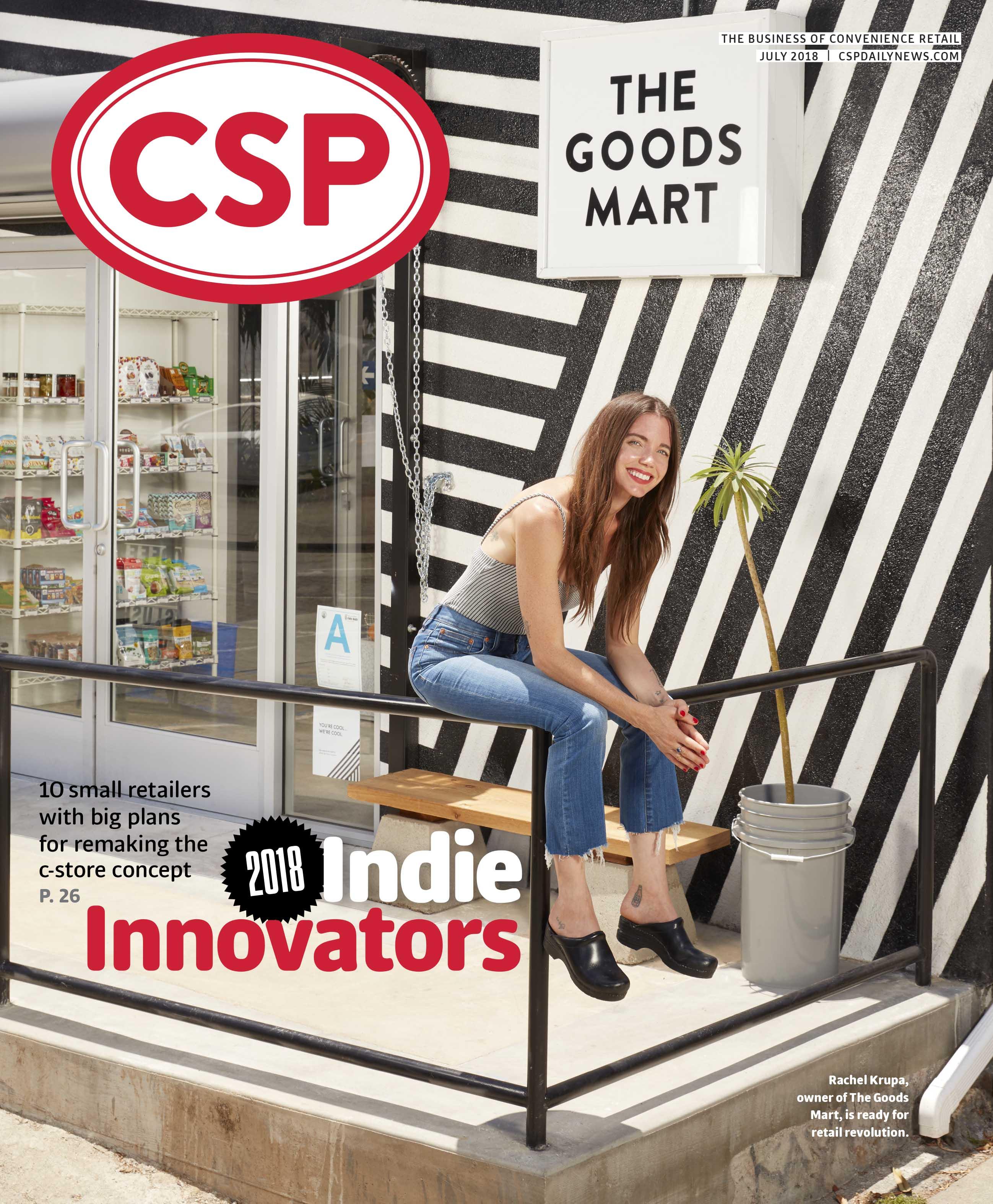 CSP magazine July 2018 cover