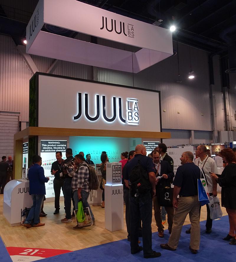 The Latest: FDA Inspects Juul Headquarters