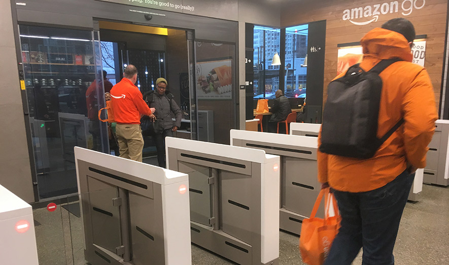 amazon go turnstile