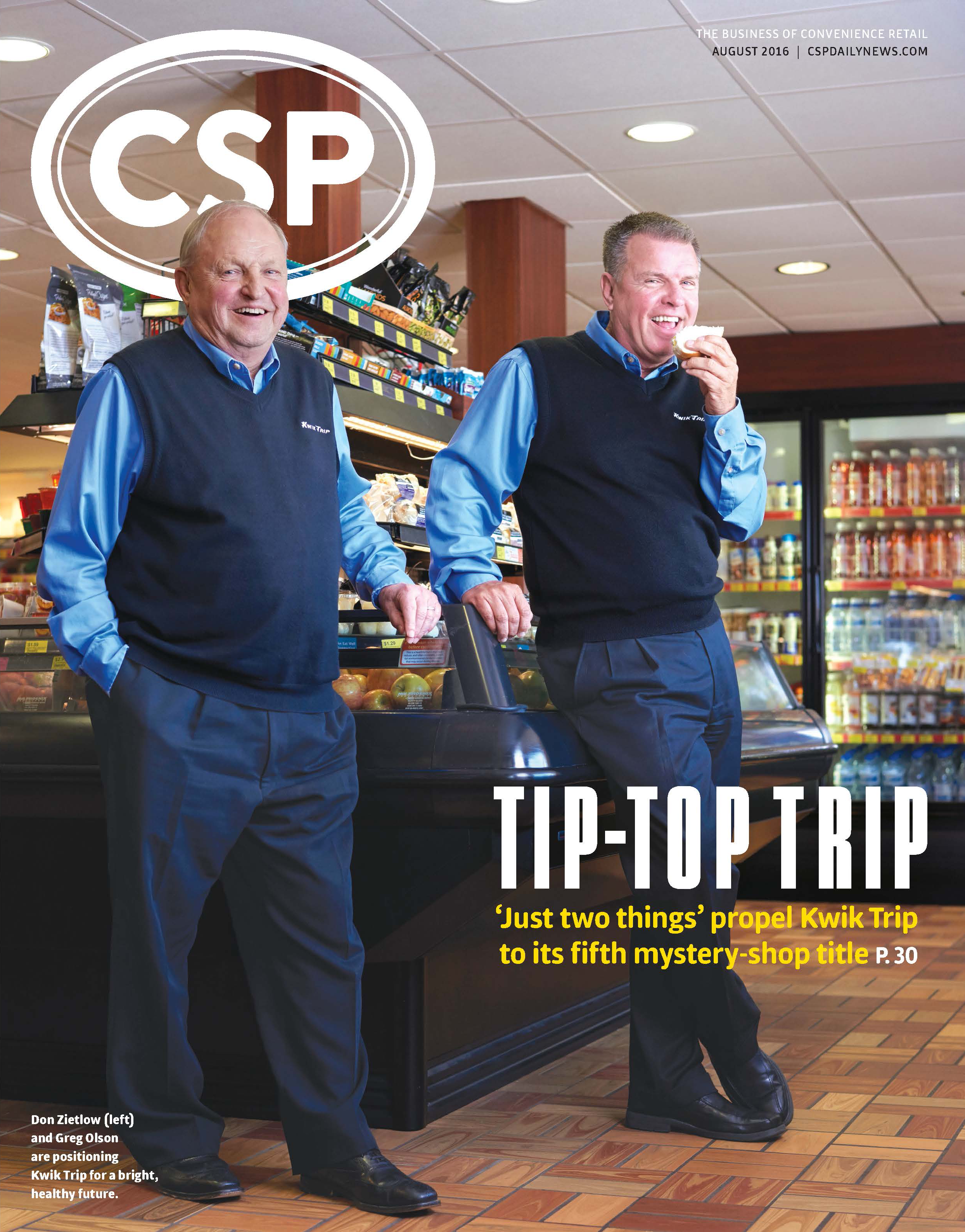CSP Daily News Magazine CSP Magazine | August 2016 Issue