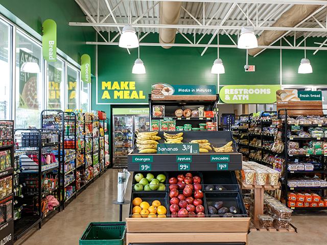 Corner Store convenience store checkout