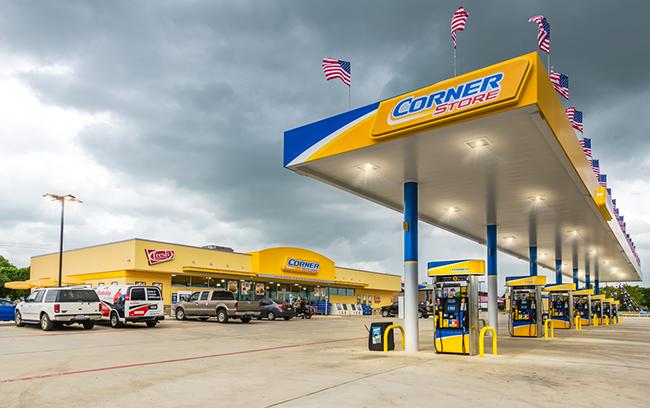 CST Brands Corner Store convenience store inside wide