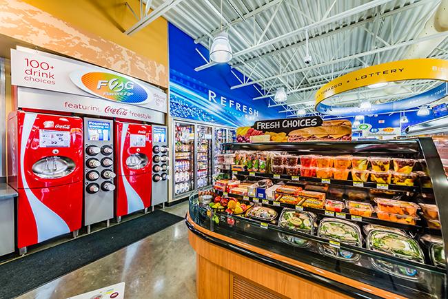 CST Brands Corner Store convenience store frozen beverages