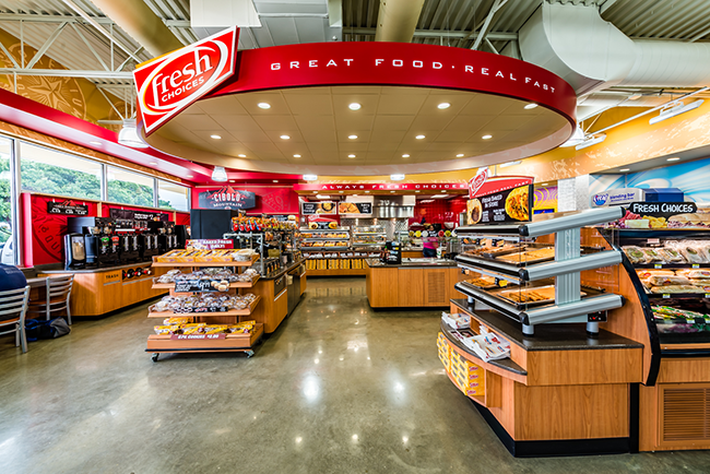 CST Brands Corner Store convenience store seating areas
