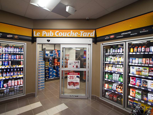 Couche-Tard candy aisle
