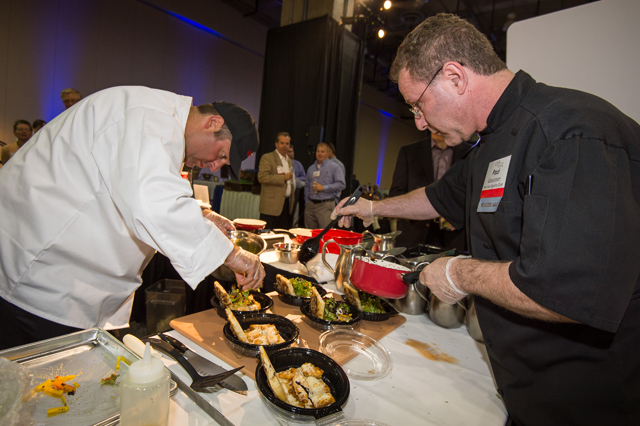 Culinary Competition: Edward Rodriguez and Andy Wittman