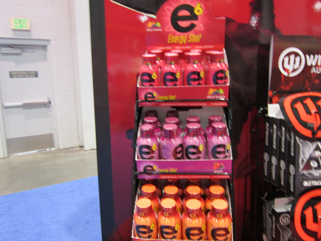 Cowboy Up and Cowgirl Up taurine-free energy shots