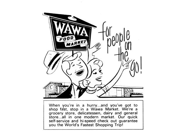 early Wawa store