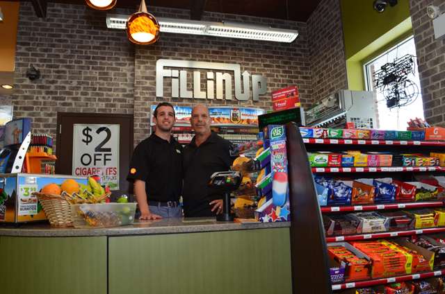 Fillinup convenience store dunkin donuts