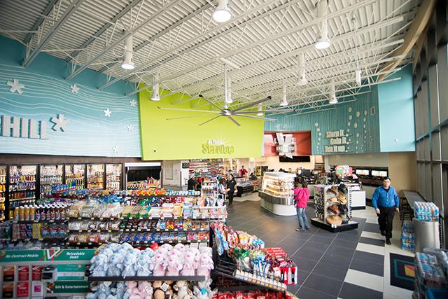 Alon Brands 7-Eleven convenience store Open Floor Plan