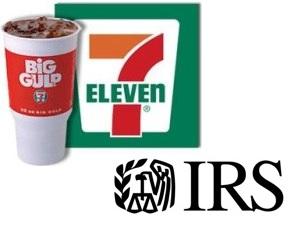 7-Eleven Big Gulp IRS
