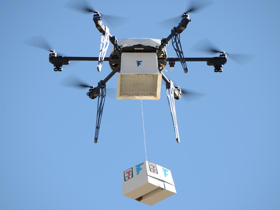 7-Eleven Flirtey drone