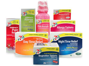 7-Eleven 7-Select over the counter OTC medication (CSP Daily News / Convenience Stores)