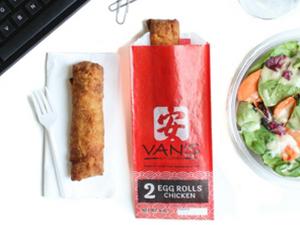 Van's Kitchen egg rolls