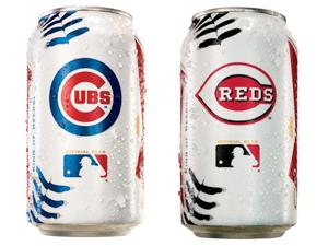 Budweiser MLB cans