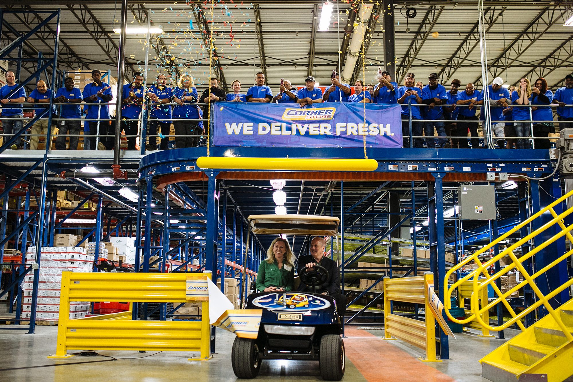 CST Celebrates Grand Opening Of Distribution Center