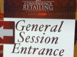 A loyalty light bulb goes on during Convenience Retailing University general session