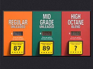 higher octane fuel pump