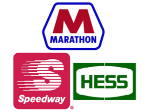 Marathon MPC Speedway Hess
