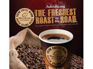 ravelCenters of America World Blends Coffee